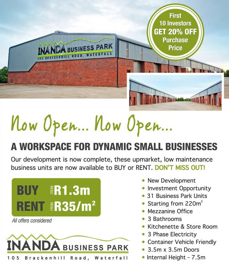 Inanda Business Park, Hillcrest, Gauteng